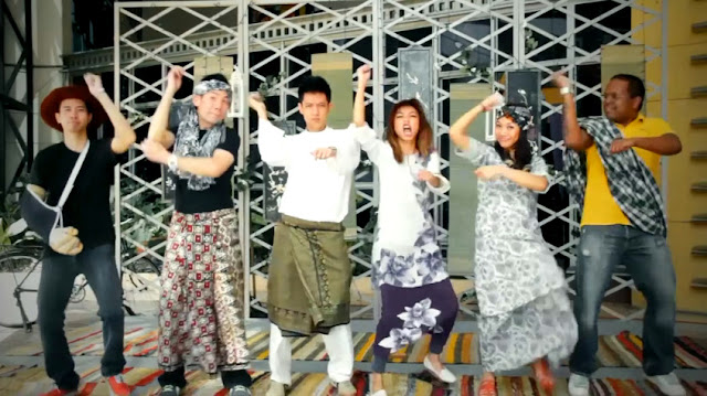 GANGNAM STYLE Parody FlyFM SUPER KAMPUNG STYLE