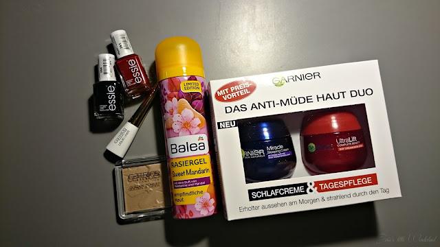 Beauty | xxl Shoppingausbeute - haul, josie´s little wonderland, catrice, essie, balea, garnier