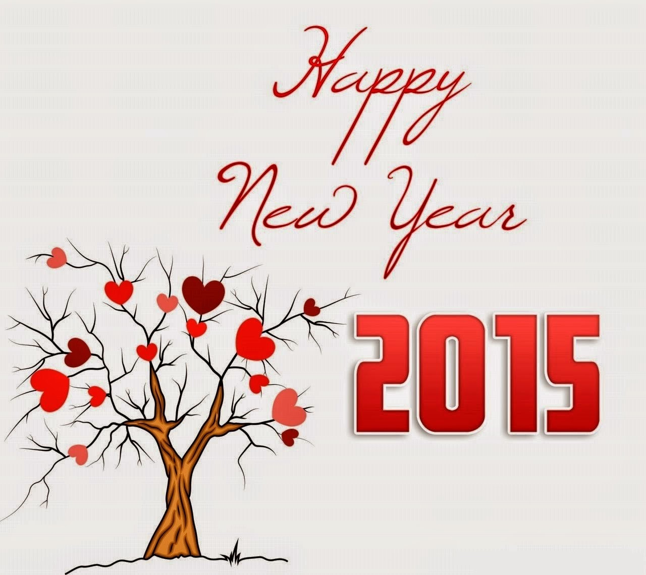 Romantic greeting cards for happy new year 2015 merry christmas romantic greeting cards for happy new year 2015 m4hsunfo