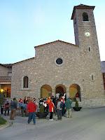 Plaça de l'església dels Hostalets de Balenyà