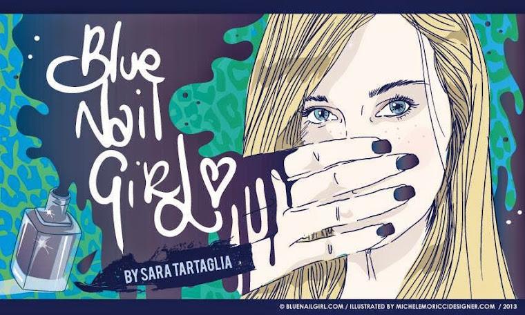 Blue Nail Girl