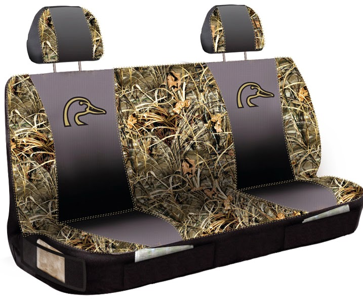 bench seat cover ducks unlimited max4 camo