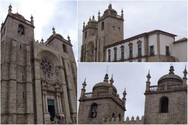 Catedral de la Sé en Oporto, Portugal