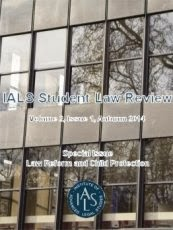 Image of the IALS Student Law Review cover