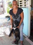 Lázara and Her Dog