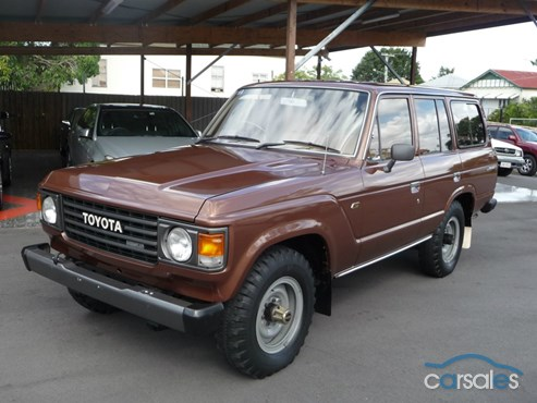 brilliantly basic, 1981 HJ60 ('60-series') Toyota Landcruiser.