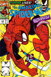 Amazing Spider-Man #345 cover - 1st full appearance of Cletus Kasady