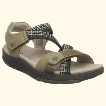 This Is Another Great Rocker Bottom Soled Sandal. I Like The Extra Arch  Support That Is Built Into The Sandal And I Also Like The Aesthetics.