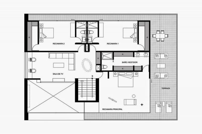 19 wonderful modern residential architecture floor plans for Boise residential architects