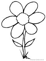 Belajar Mewarnai Gambar Bunga