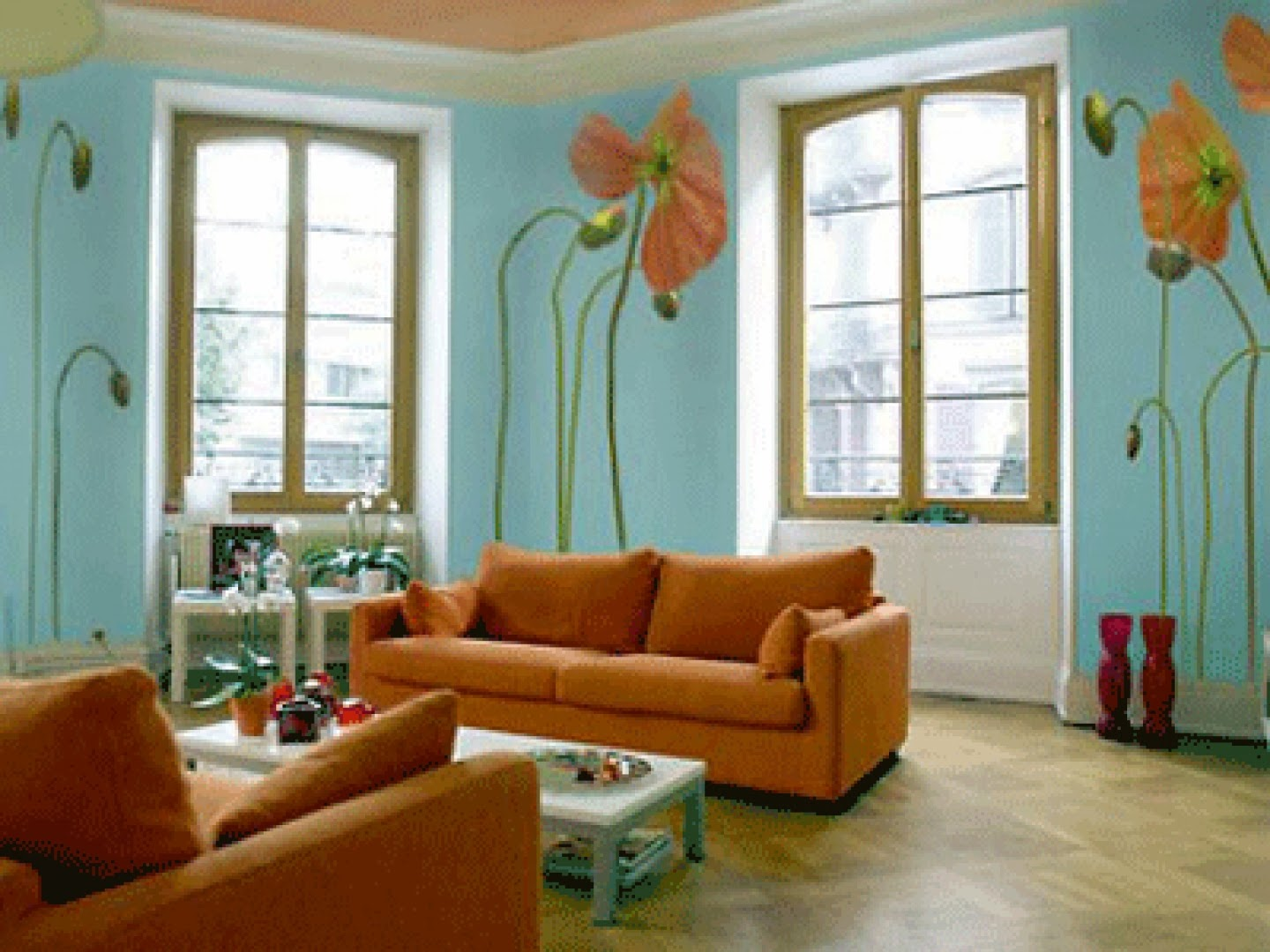 Modern Furniture: 2014 Interior Paint Color Trends