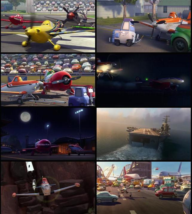 Planes 2013 Dual Audio Hindi English BRRip 720p
