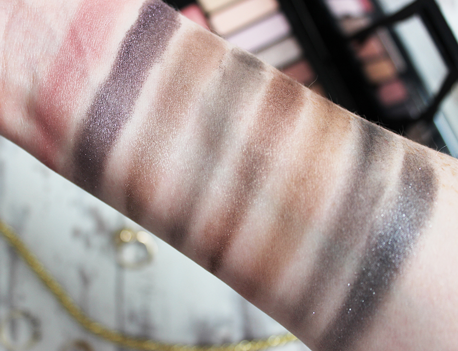 Lancome Audacity in Paris eye shadow palette review and swatches