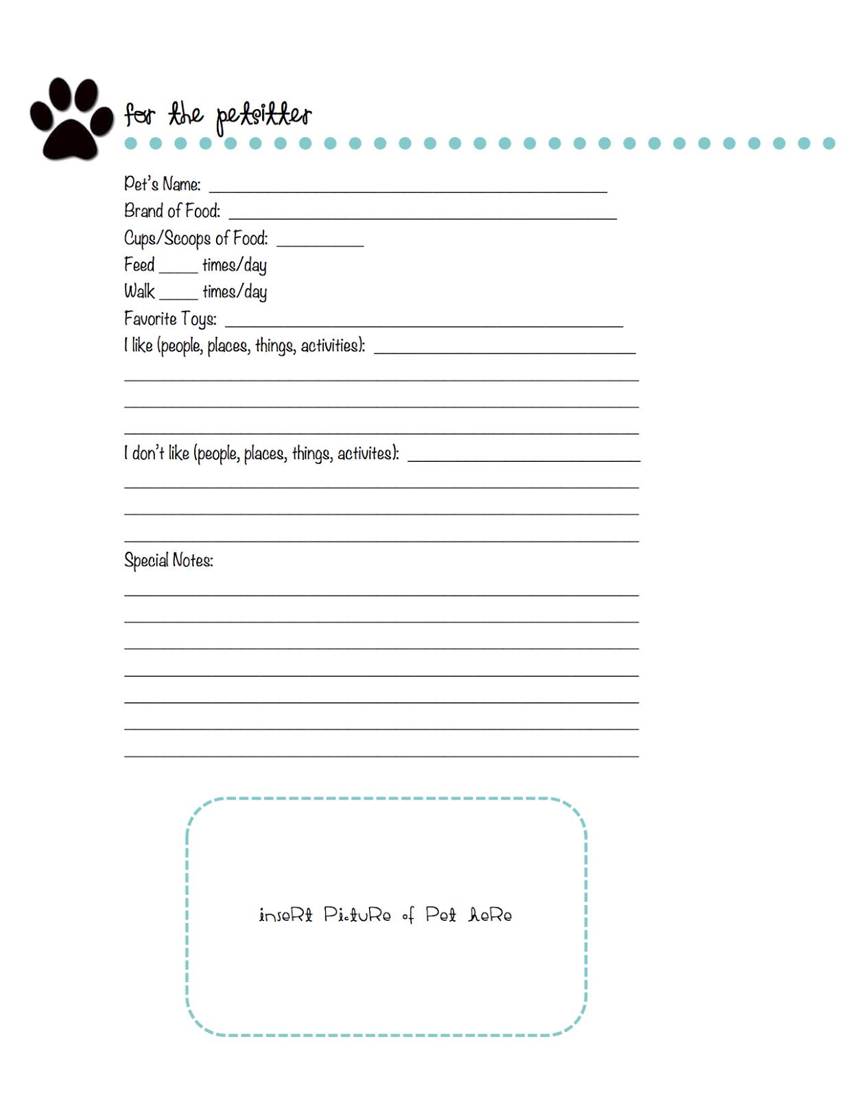 dog sitting information sheet related keywords suggestions dog