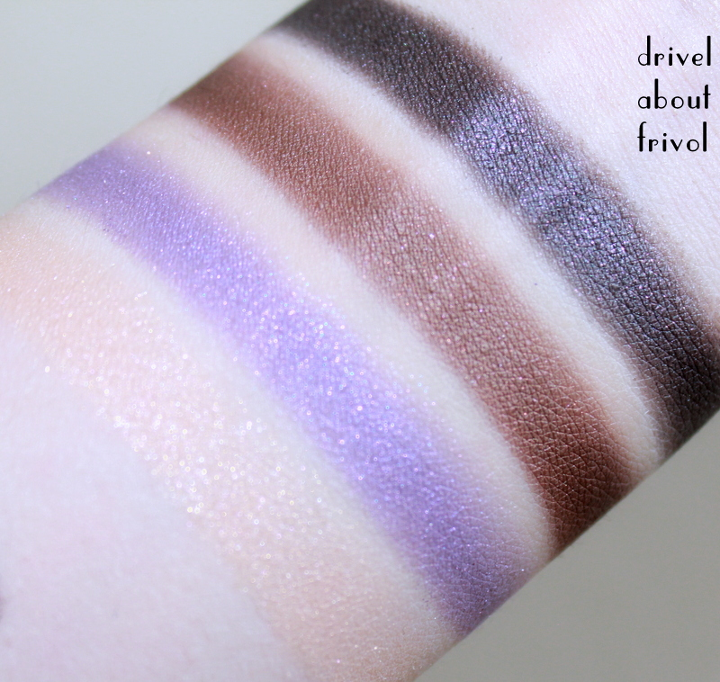 THREE 4D Eyeshadow Palette 04 Art of Parties swatches