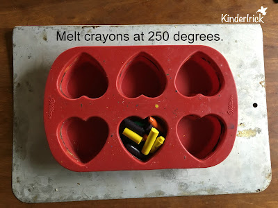 Easy to make crayons