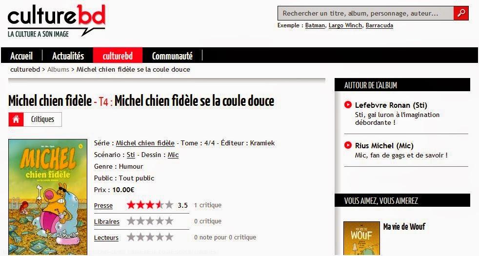 http://culturebd.com/album-bd/michel-chien-fidele/205742-4-michel-chien-fidele-se-la-coule-douce
