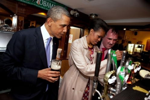"THE IRISH ""O'BAMA"" CLAN ARE HOGWARTS !"