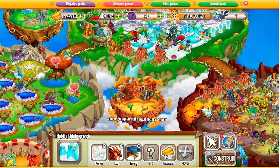 imagen de la isla western de dragon city