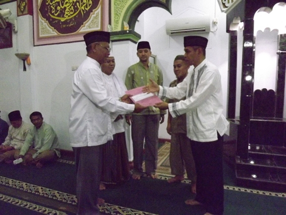 Lurah Se-Kecamatan Cimanggis Ikuti Safari Ramadhan