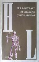 Portada del libro el santuario y otros cuentos lovecraft cuento celephais