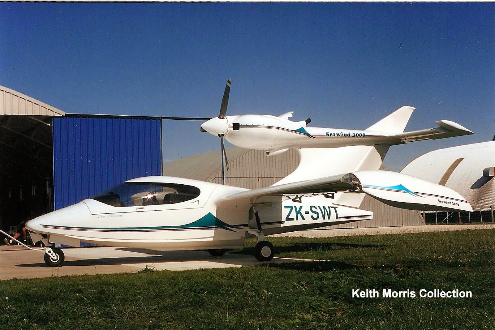 Nz Civil Aircraft Seawind 3000 Amphibians Of New Zealand