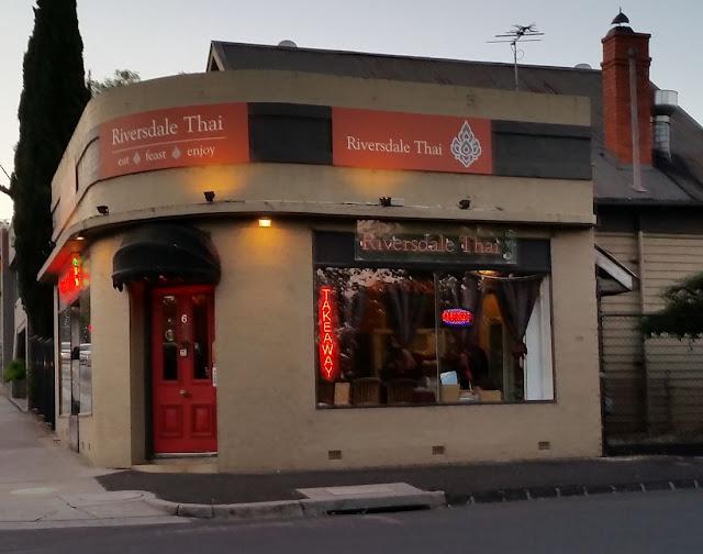 Riversdale Thai, Camberwell, Thai