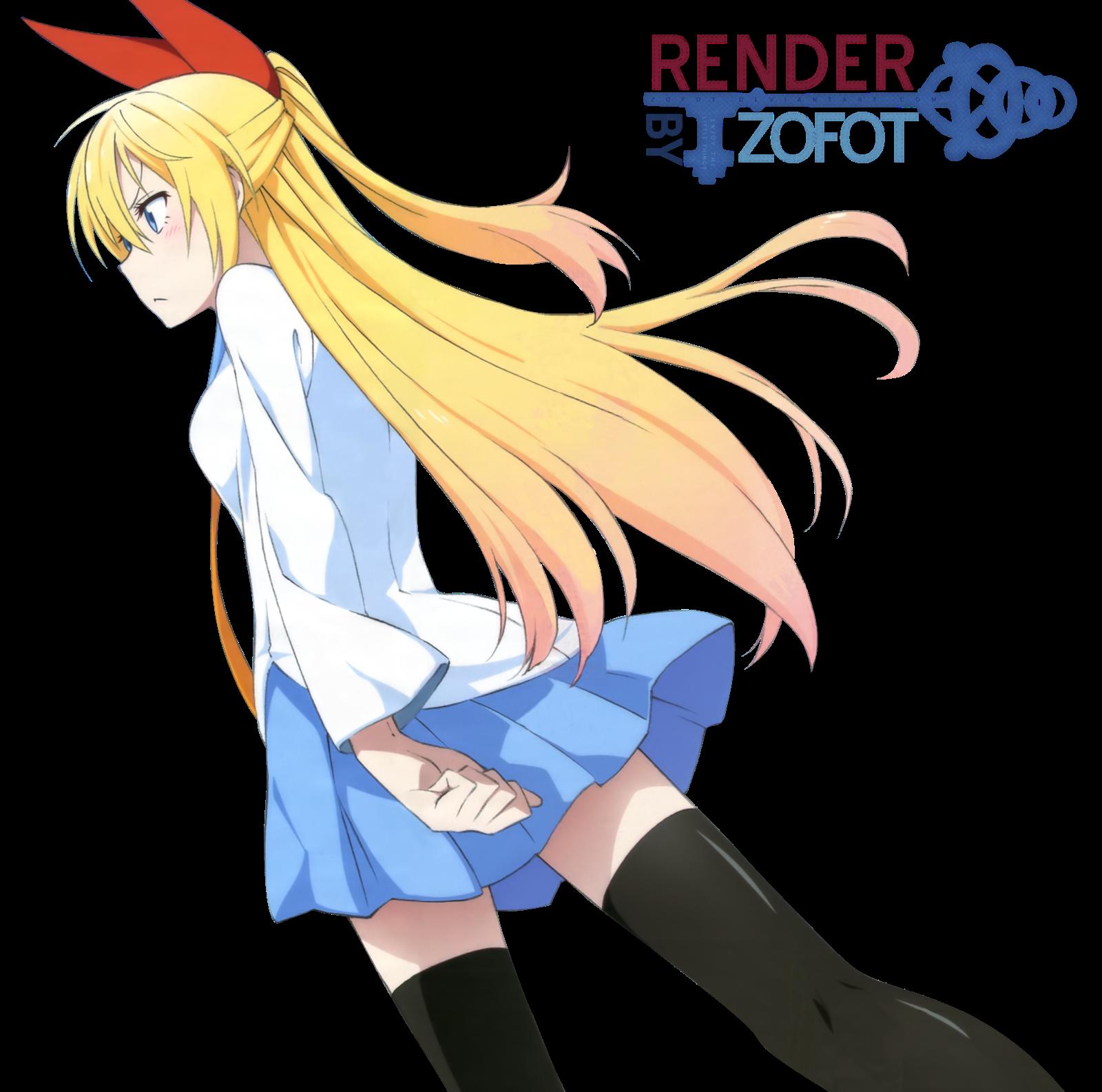 Render Chitoge Kirisaki - Limpieza