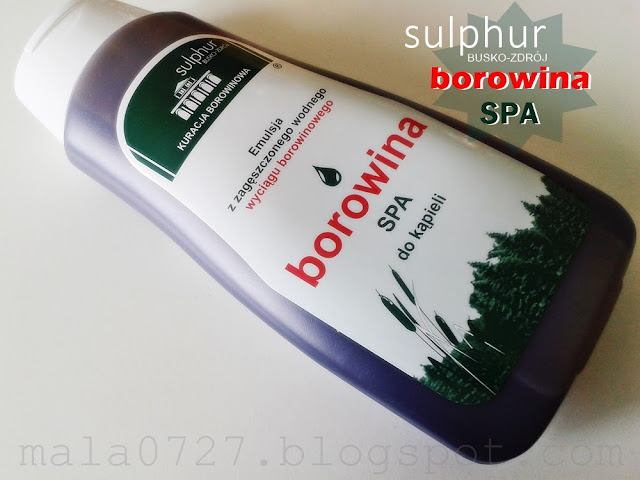 sulphur borowina