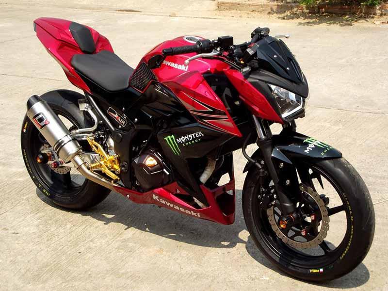 Variasi Motor Kawasaki Z 250 referensi
