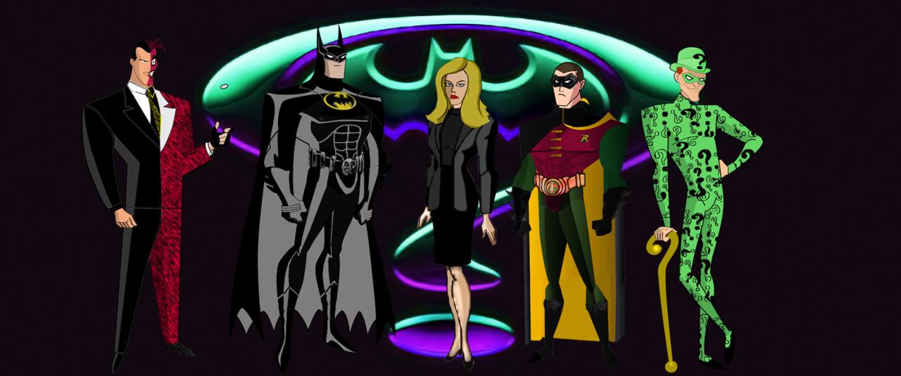 The Dork Review: Rob\'s Room: Batman, Batman Returns, Batman Forever ...