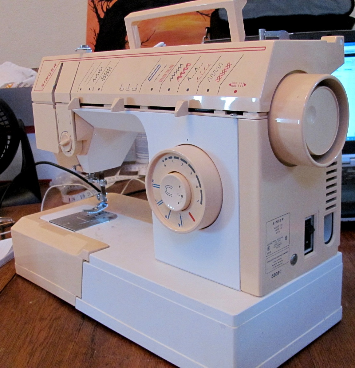 the sewing machine rescue singer 5808c rh sewingmachinerescue blogspot com singer model 5808c manual singer 5808c manual español