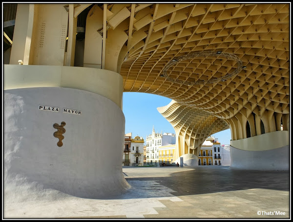 Séville le Parasol centre culturel marché couvert Plaza Mayor Andalousie
