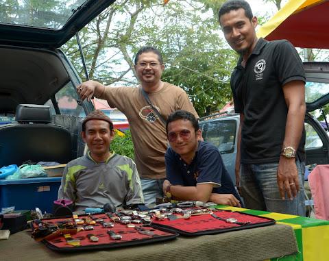 Bersama Khuzaiman, Ust Wafee & Afham, di Penaga P.Pinang
