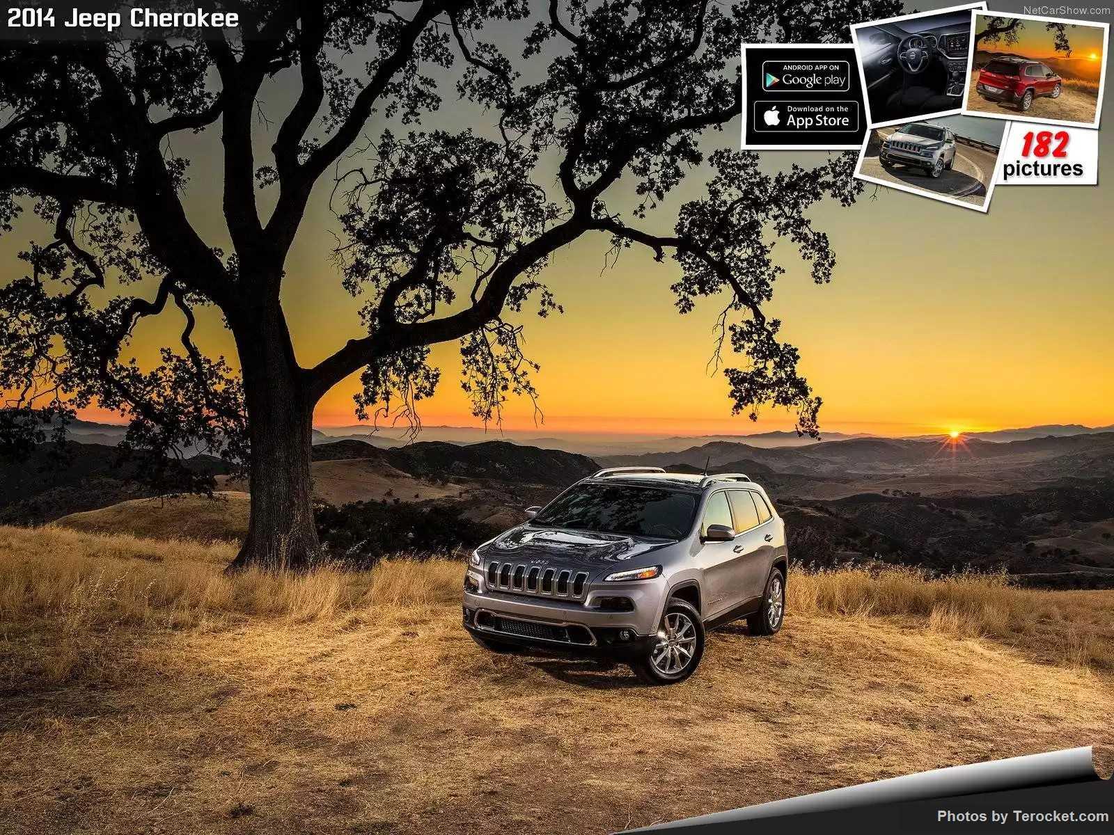 Hình ảnh xe ô tô Jeep Cherokee 2014 & nội ngoại thất