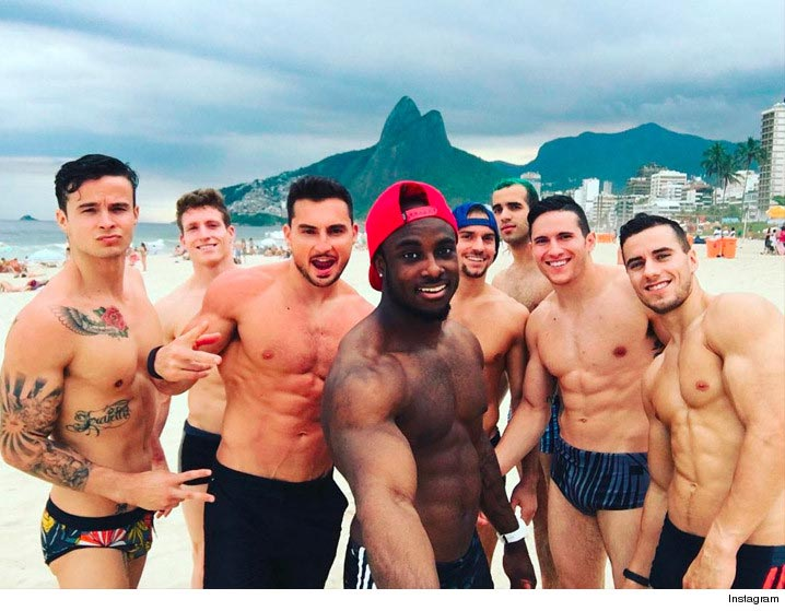 Team USA Gymnastics Men Show Off Their Abs In Sexy Photoshot
