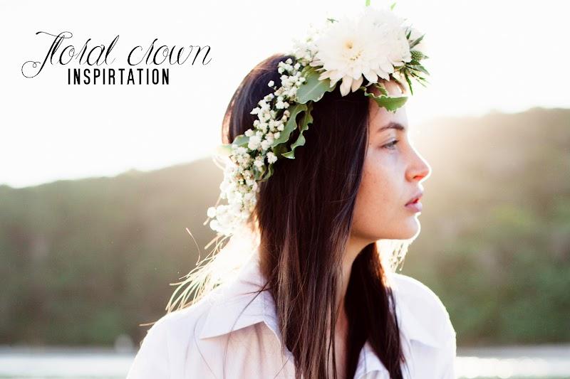 INSPIRATION | FLORAL CROWN