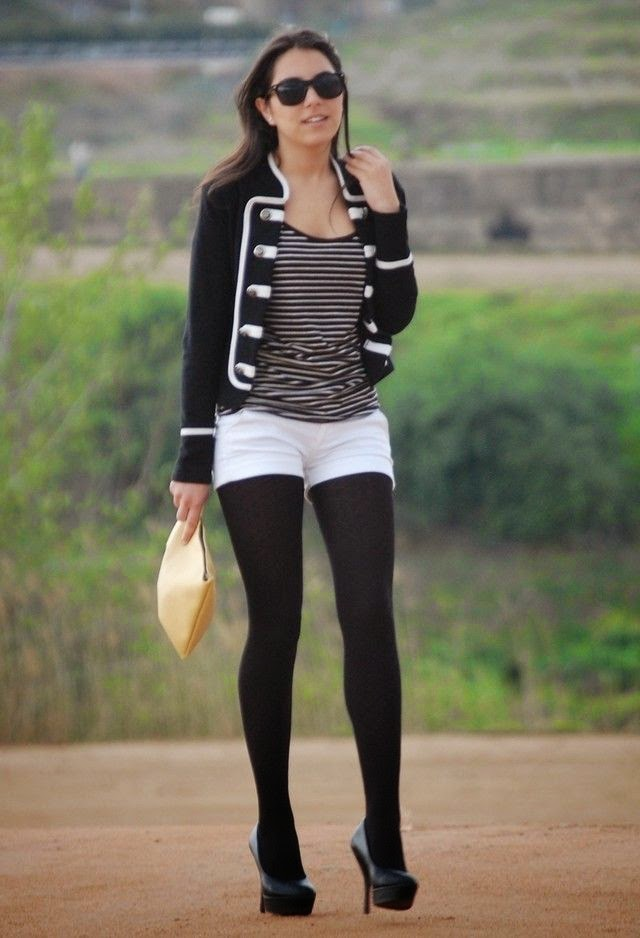 Fall  Trend Black and White Street Style Fashion