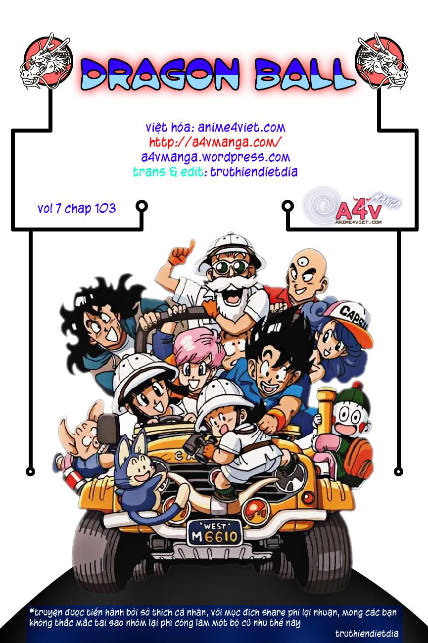 caroteka.com -Dragon Ball Bản Vip - Bản Đẹp Nguyên Gốc Chap 103