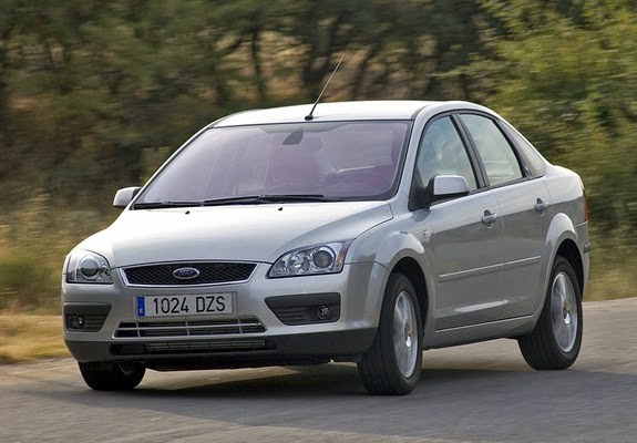 the ultimate car guide ford focus sedan generation 2 1. Black Bedroom Furniture Sets. Home Design Ideas