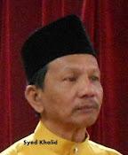 Syed Khalid b. Syed Osman. Gred N3