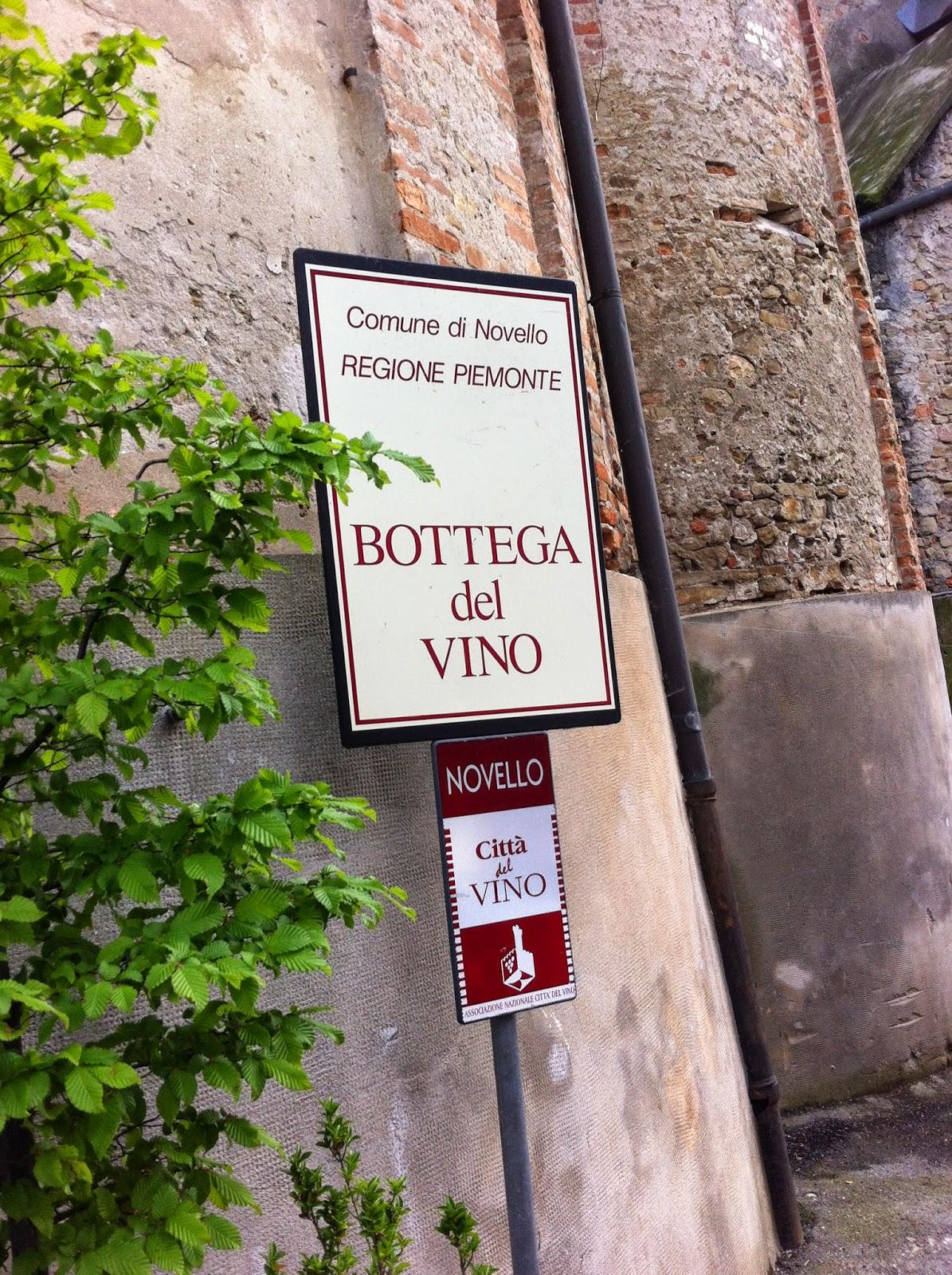 Bottega del Vino a Novello