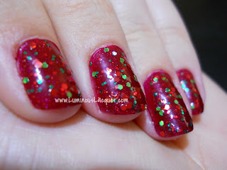Pretty & Polished - Happy Holodays Glitter Topper