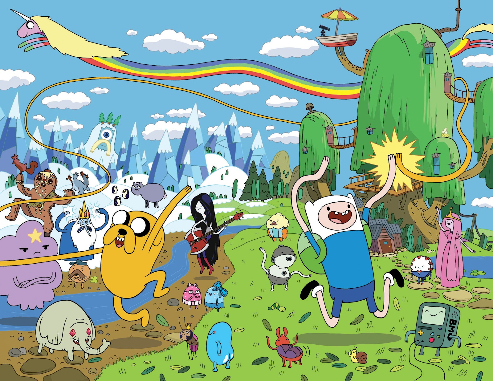 Game Idea: Adventure Time Advanced