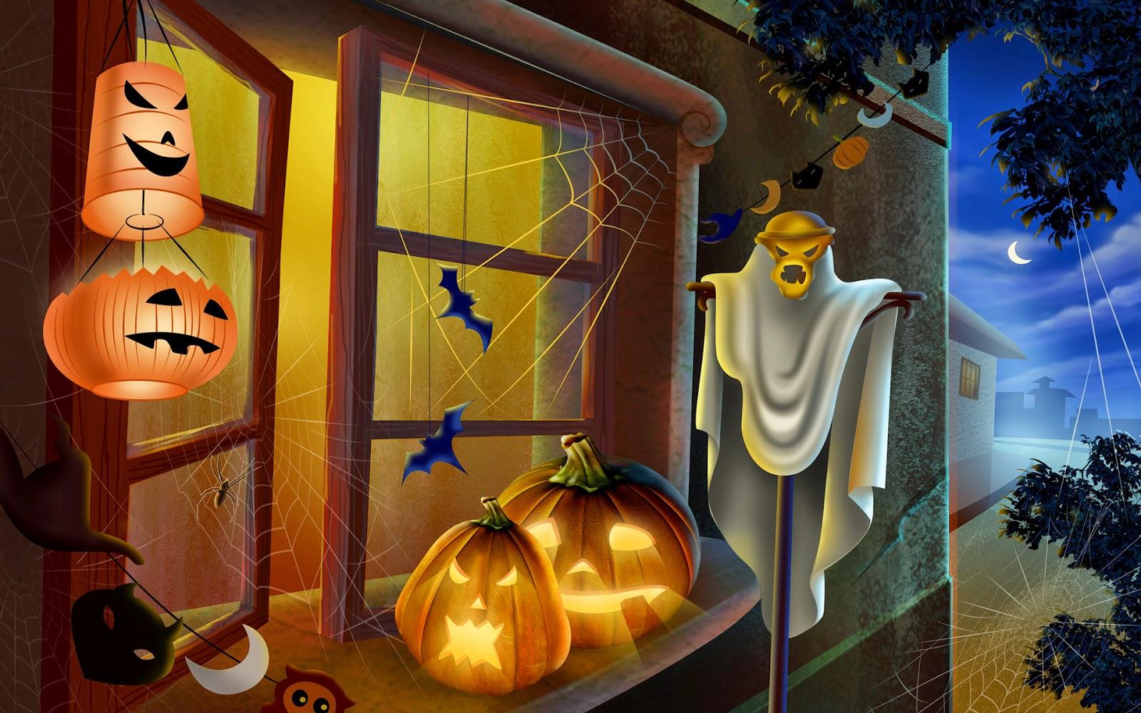 """""""Halloween Scene"""" """"Fairy"""" """"Halloween Jack O'Lantern"""" """"Halloween Pumpkin"""" """"Halloween Ghost"""""""