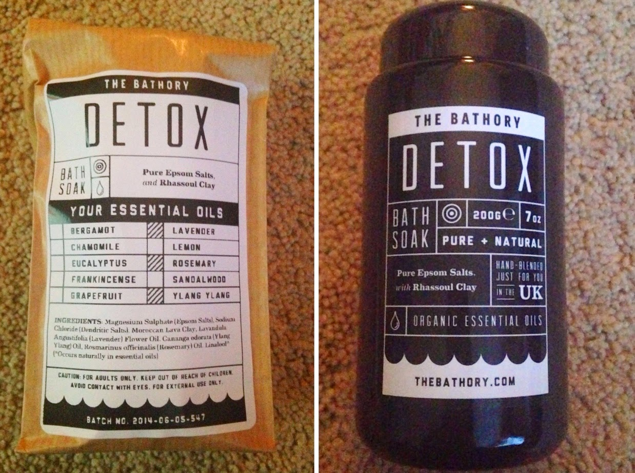 Inspire Magazine Online - UK Fashion, Beauty & Lifestyle blog | Review // Personalized Detox Bath Soak from The Bathory; Inspire Magazine; Inspire Magazine Online; Review; The Bathory; Bath Soak; Detox Bath Soak