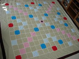 The Scrabble Quilt