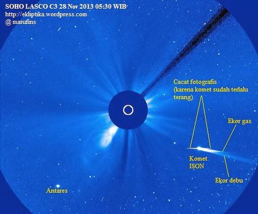 Komet ISON Bisa Diamati di Siang Hari