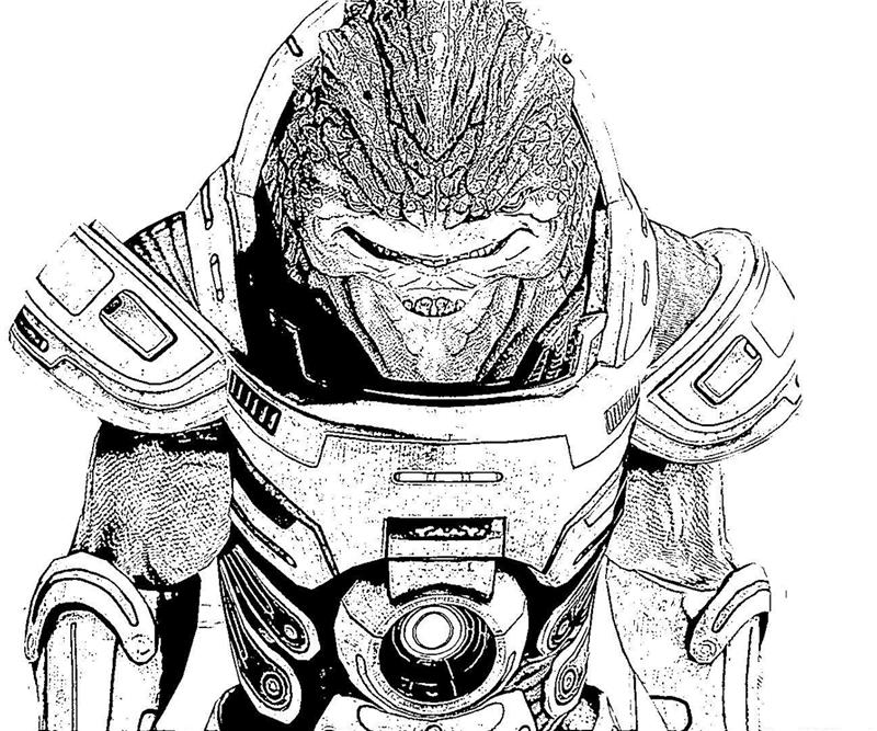 mass effect 3 coloring pages - photo#12