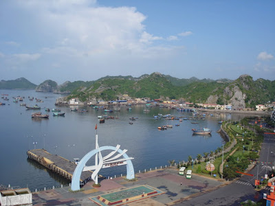 Cat Ba Harbour Pier
